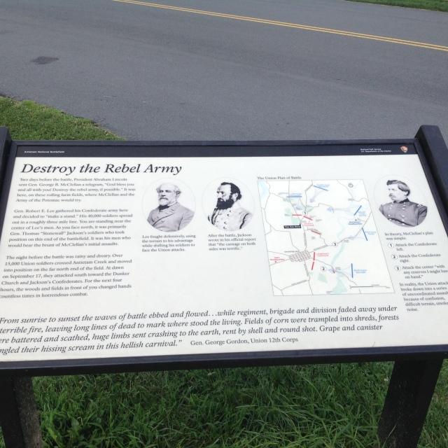 Peace Declared after the Civil War's Bloodiest Battle in a single day.