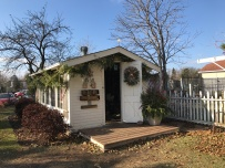 Backyard Shed. See Interior at the end of the pictures
