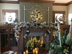 Fireplace Becomes and Ornament