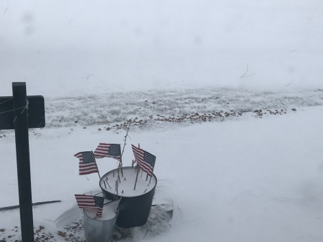 April 14, 2018 Blizzard Pictures from Minneapolis,MN