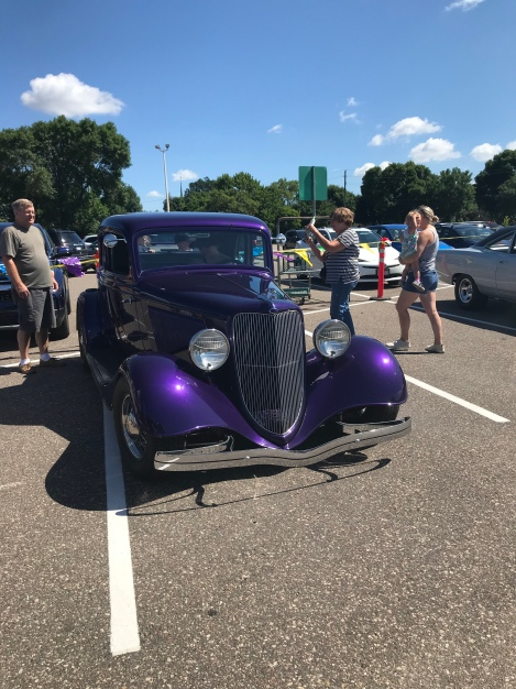 Car Show at Bachman's on Saturday & Biking on Sunday Last Weekend in July, 2018